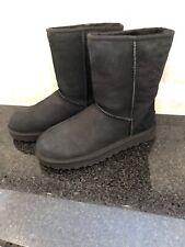 Women's UGG Classic Short II Black Boots- size 8- #1016223