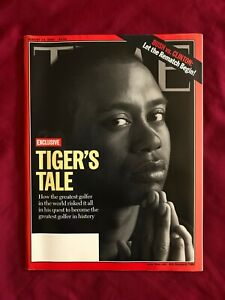 Tiger Woods Time Magazine Golf August 14 2000 NEW Near MINT NO Label