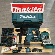 Makita DHR264ZJ Akku-Bohrhammer 2x18V + Makpac 4 + Wechselfutter + viel Zubehör