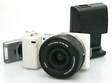 Sony NEX 5N with 16-50mm F3.5-5.6 PZ OSS Lens, Flash and BC-VW1 Charger