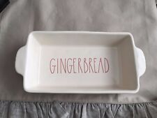 NEW RAE DUNN ARTISAN COLLECTION GINGERBREAD LOAF DISH