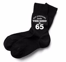 65th Birthday Gift Present Idea Boy Dad Him 1952 Men 65 Black Sock Accessories