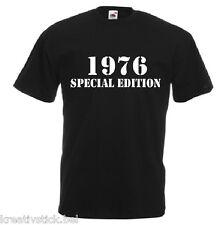 1976 SPECIAL EDITION 40 GEBURTSTAG FUN  JAHRESZAHL T-SHIRT VERSCHIEDENE FARBEN