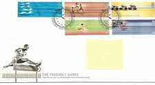 Recuento de leucocitos. - GB-Primer Día Cubierta Fdc-Commems -2002 - c'wealth Games-PMK TH