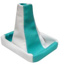 Soufflet de levier vitesse blanc/bleu ao pour FIAT STILO 2001-2007