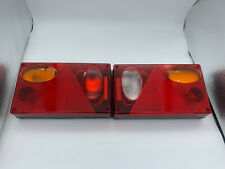 Pair LHD trailer/caravan lights