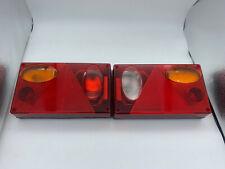 Pair LHD trailer/caravan lights