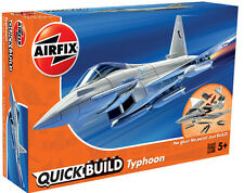 "Brand New Airfix Quick Build ""Fits The Box"" Eurofighter Typhoon Model Kit."