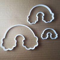 Rainbow Arch Cloud Shape Cookie Cutter Dough Biscuit Pastry Fondant Sharp