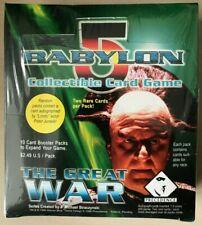 Babylon 5 CCG The Great War Booster Box