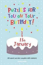 Puzzles for You on Your Birthday - 11th January by Clarity Media (2014,...