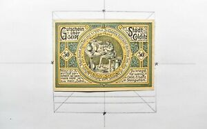 CrazieM World Bank Note - 1921 Germany 50 Pfennig - Notgeld Currency - m11