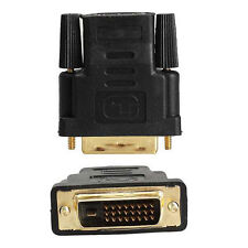 HDMI Female to DVI DVI-D Dual Link Male Cable Adapter Converter Adaptor