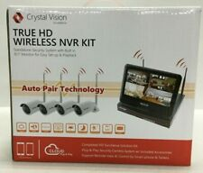 Crystal Vision Surveillance True HD Wireless NVR Kit Standalone Security System