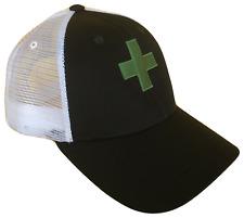 Medical Recreational Marijuana Dispensary Green Cross Mesh Golf Cap Caps Hat Hat