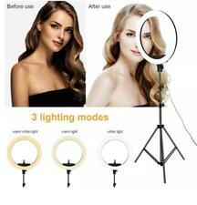 "18""LED HQ Ring Light 21 inch Kit With Stand For Camera Makeup 🔥🔥Phone 🔥🔥"