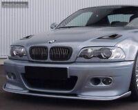 Para BMW 3 Serie E46 M3 M Sport Parachoques Niebla Luz Marcos con Aire Admisión