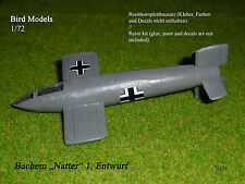 "Bachem ""Natter"" 1. Entwurf       1/72 Bird Models Resinbausatz / resin kit"