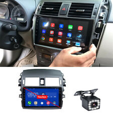 For Toyota Corolla 08-13 9'' Android 9.0 Car Radio GPS Navigation w/ LED Camera
