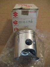 SUZUKI TM125/RM125 ENGINE PISTON STANDARD 1975 NOS!