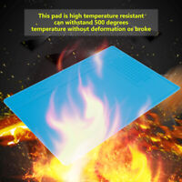 Heat-resistant Phone Repair Maintenance Silicone Pad Desk Insulation Station Mat