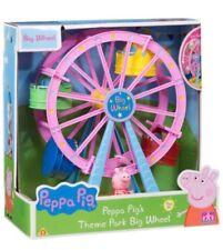 NEW KIDS PEPPA PIG THEME PARK BIG WHEEL GREAT FUN 3 YERS OLD BEST GIFT