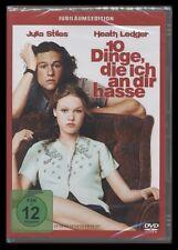 DVD 10 DINGE DIE ICH AN DIR HASSE - HEATH LEDGER + JULIA STILES *** NEU ***