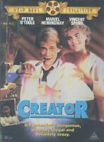 CREATOR NEW DVD