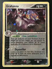 Carte Pokemon GRAHYENA 10/109 Holo bloc ex Française (star, booster)