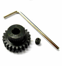 L824 Module 0.8 0.8M 24T 24 Teeth Tooth Motor Pinion Gear Black 1/10 540 3.17mm