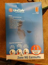 Unisafe RBZ2CA Ear Muffs NG Neckband Class 5 28dB Cap Attached Zone 2 Orange New