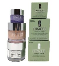 Clinique Lot of 3 Skincare Full Size Smart + Moisture Surge + Cleansing Balm NIB