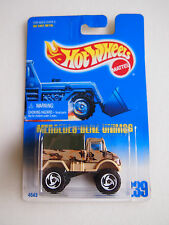 HOT WHEELS 1991 ISSUE MERCEDES BENZ UNIMOG #239 ARMY VERSION