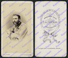 orig. CDV-Foto K.u.K. Kaiserjäger Unterjäger Orden Tirol Czichna Innsbruck 1867