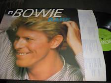 David Bowie LP Rare UK vinyl rca pl45406 helden heroes w/inner scarce recording