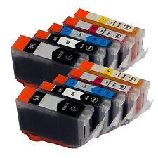 10 * Ink for Canon PGI-5 CLI-8 PGI-5BK CLI-8C CLI-8M CLI-8Y NEW Cartridge 10PACK