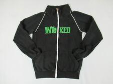 Wicked OZ Jugar Verde Para Good Pequeño Negro Mujer Chaqueta con Cremallera F413