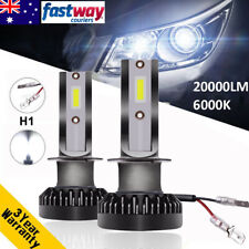 Mini Size H1 110W 20000LM Car LED Headlight Bulb Globe Beam Lamp Light Kit 6000K
