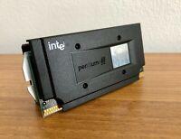 Intel  Pentium III 1000MHz SLOT 1 w/ cooler -  100MHz FSB - SL4KL - Rare - Mint