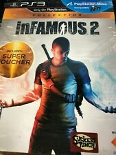 Infamous 2 ( PlayStation 3) PS3  Not For Resale Version Opened new