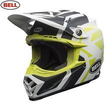 2018 Bell Moto 9 Motocross MX Helmet District Matte Black Green Large 59-60cm