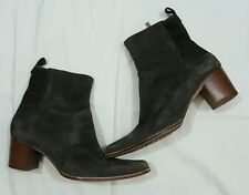 Timberland Women's Size 9M Tasa Comforia Soft Suede Brown High Heeled Boots