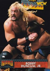 Bobby Duncum Jr 1999 Topps WCW/nWo Nitro Rookie Card #28 All Japan Pro Wrestling