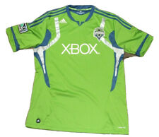 Men's Adidas Seattle Sounders Soccer Jersey Size XL Green Pre Owned