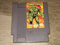 Swamp Thing Nintendo Nes Cleaned & Tested Authentic