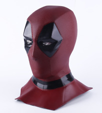Deadpool Mask Hard Latex Quality Superhero Mask Prop Costume Collection New Red