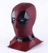 Deadpool Masque dur Latex Qualité Super-héro masque accessoire costume collection NEUF rouge