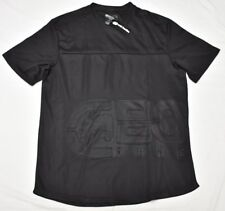 Ecko Function T-Shirt Men's Size L Rhino Logo Poly Athletic Tee Black Urban N963