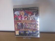 Disgaea Tripleplay Colección 3 Juegos, PS3, Nuevo, Precintado Versión Pal