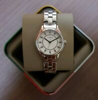 FOSSIL MODERN SOPHISTICATE THREE-HAND SILVER STAINLESS STEEL WATCH BQ1570